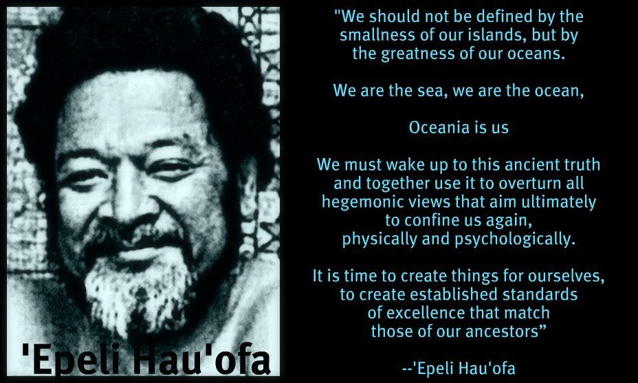 'WE ARE THE OCEAN' BY EPELI HAU'OFA